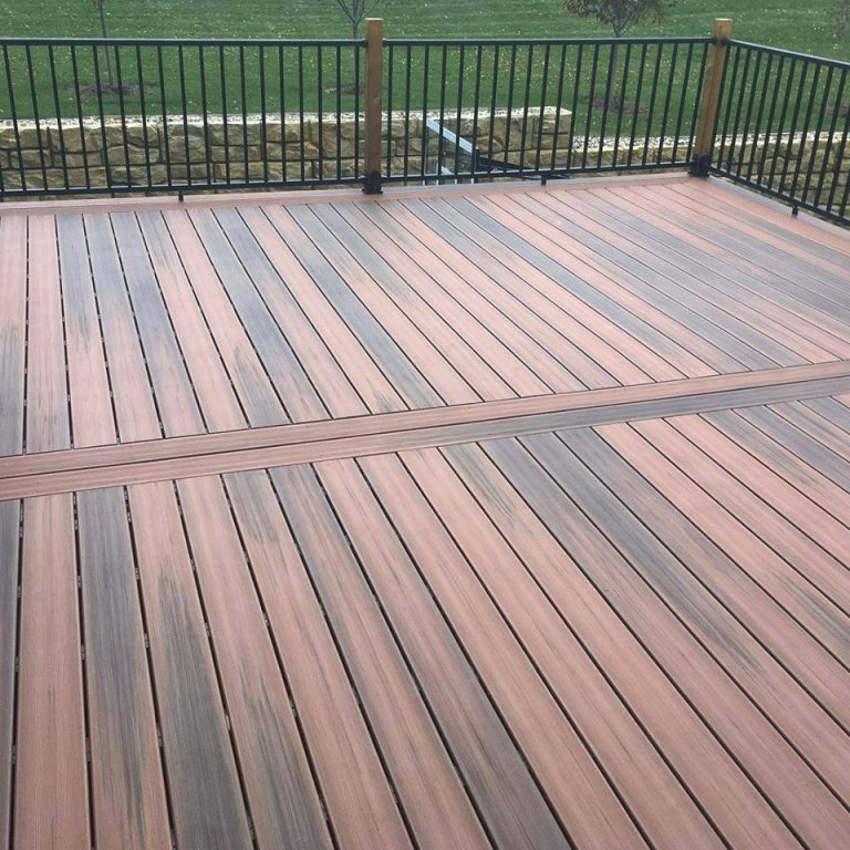 Durlaife Deck example and Railing