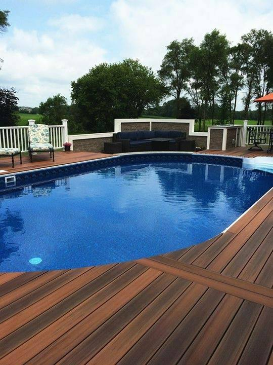 Duralife Custom Deck Around Pool