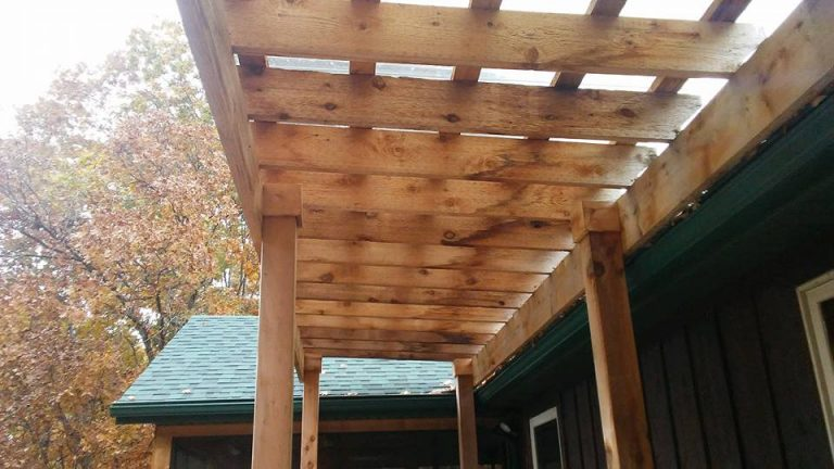 Custom Pergola by Outdoor Creations