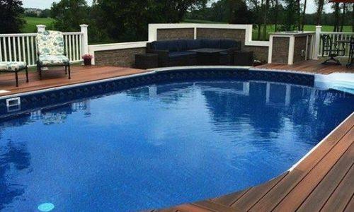 Duralife Custom Deck Around Pool