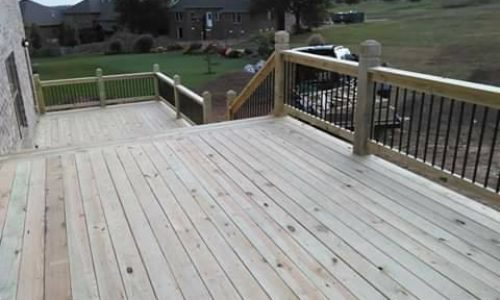 Custom Deck by Outdoor Creations